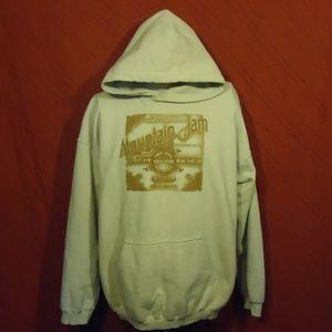 Mountain Jam 2007 - Hoodie Sweatshirt - Beige - XL